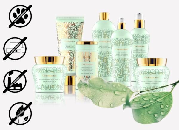 Die vegane Kosmetik von Channoine unterstützt die Haut perfekt bei den Herausforderungen im Alltag.